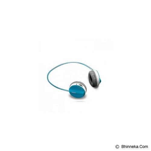 RAPOO Wireless Headset [H3050] - Blue - Headset Pc / Voip / Live Chat